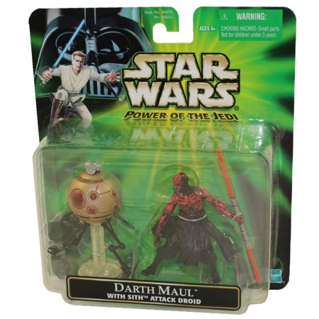 Star Wars - Power of the Jedi (POTJ) - Deluxe Figure - Darth Maul (w/Sith Attack Droid)