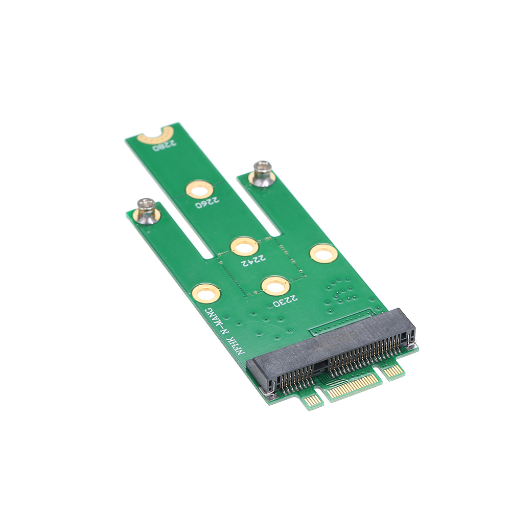 MSATA to NGFF Adapter Card Motherboard SATA to M.2 NGFF MSSD Converter B2H0