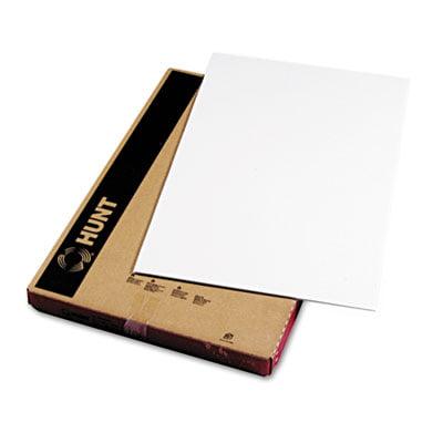 Polystyrene Foam Board, 20 x 30, White Surface and Core, 10/Carton, Sold as 1 Carton, 10 Each per Carton