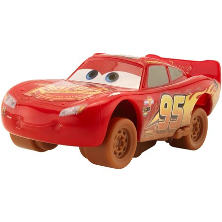 Disney Pixar Cars 3 Crazy 8 Crashers Lightning McQueen Vehicle - Disney Cars Lightning Mcqueen