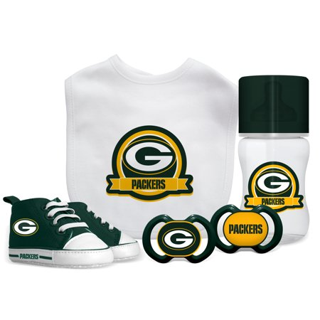 best loved 7f589 77418 NFL Green Bay Packers 5-Piece Baby Gift Set