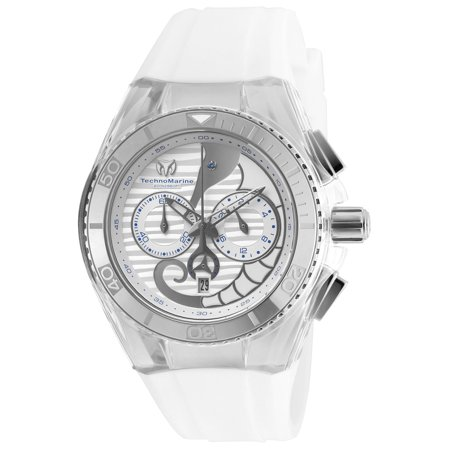 Technomarine Unisex TM-115006 Cruise Dream Quartz Chronograph Antique Silver Dial Watch