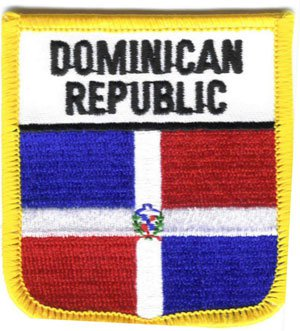 Dominican Republic Shield Patch