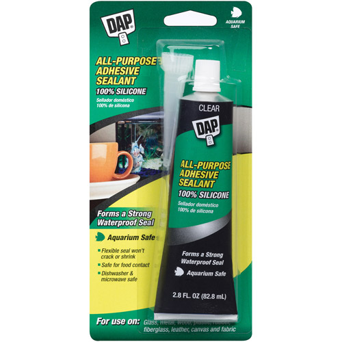 Dap 00688 Dow Corning Silicone Rubber Aquarium Sealant