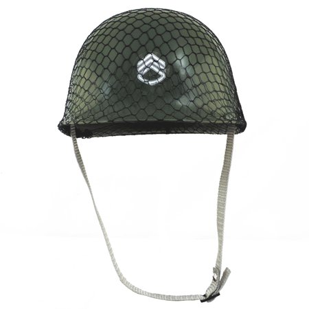 Childrens Green Army Helmet Costume Accessory](Army Helmet)
