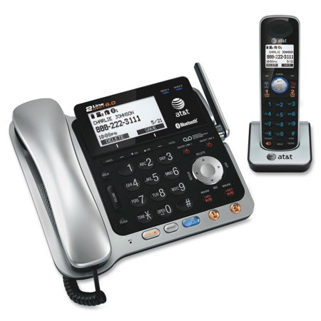 At Tl86109 Dect 6 0 Digital 2 Line Corded Cordless Answering System