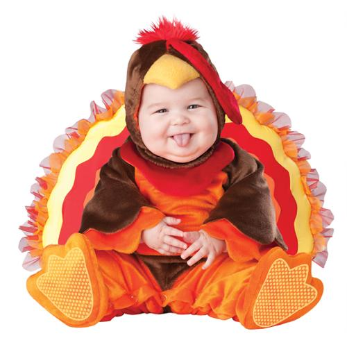 Baby Turkey Halloween Animal Costume 6-12 Months Small