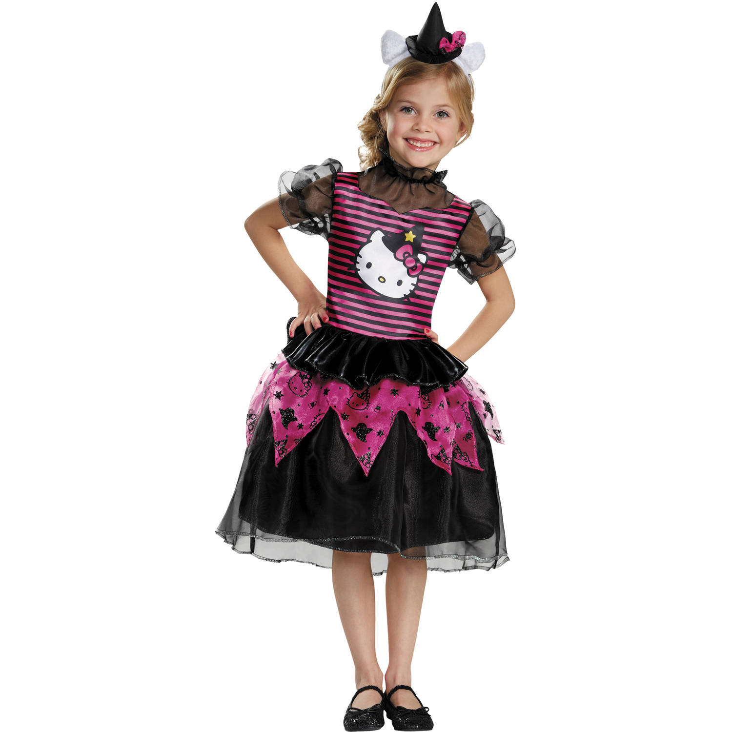 Hello Kitty Witch Classic Child Halloween Costume by Generic
