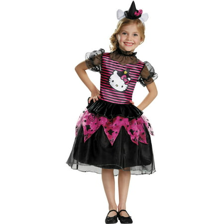 Hello Kitty Witch Classic Child Halloween Costume - Witch Costumes