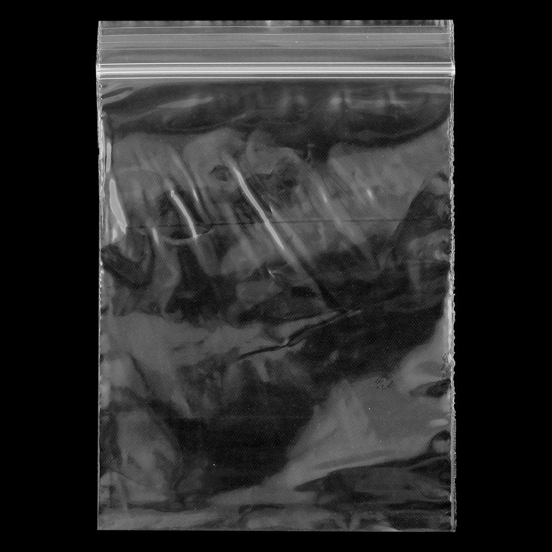 Glissière plastique cuisine Accueil Sacs rangement refermable clair 9cm x 6cm 500pcs - image 3 de 4