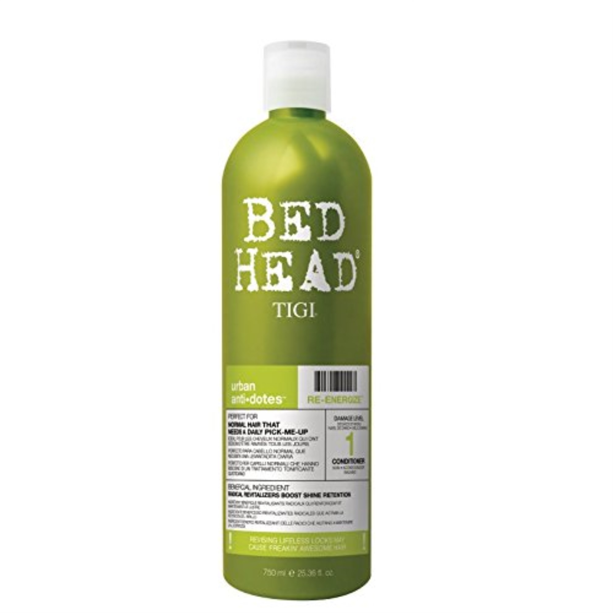 Tigi Bed Head Urban Antidotes Re-Energize Conditioner, 25.36 Fl Oz - image 2 of 2