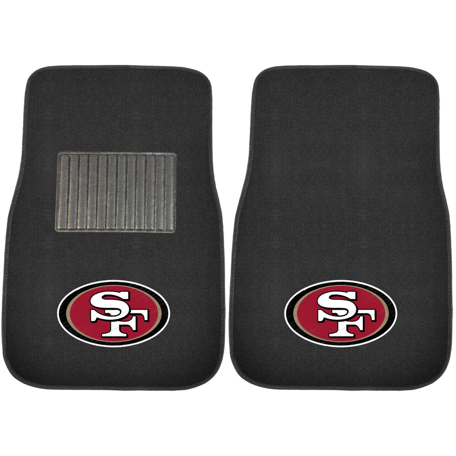 NFL San Francisco 49ers Embroidered Car Mats