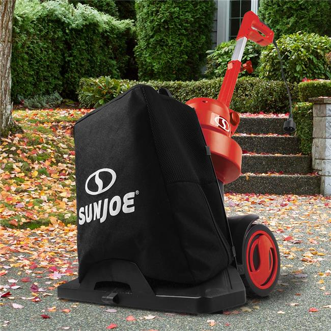 Snow Joe SBJ801E-RED 13.5A 3-in-1 Electric Blower Vacuum Mulcher, Red