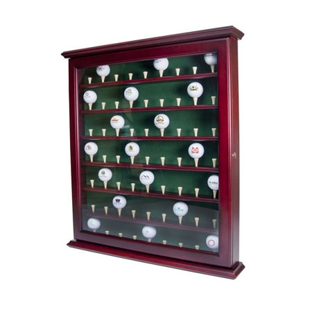 Mahogany Pine Cabinet (Golf Gifts & Gallery 1936 63 Ball Cabinet)