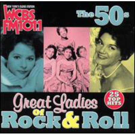 WCBS FM101.1: Great Ladies Of Rock N Roll The 50's (Alternative Rock Halloween Music)