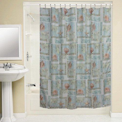 Bacova Guild Spa Shells Shower Curtain