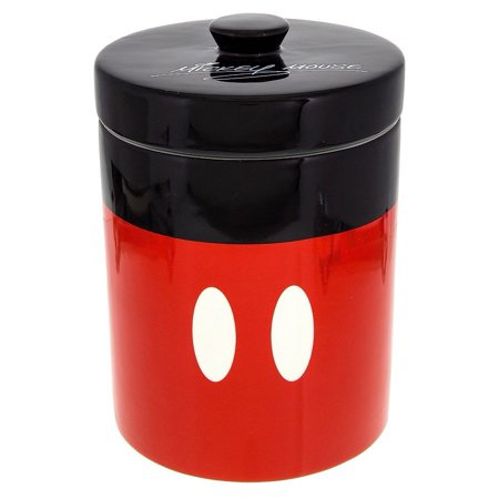 disney parks signature mickey mouse canister cookie jar ceramic new (Ceramic Apple Cookie Jar)