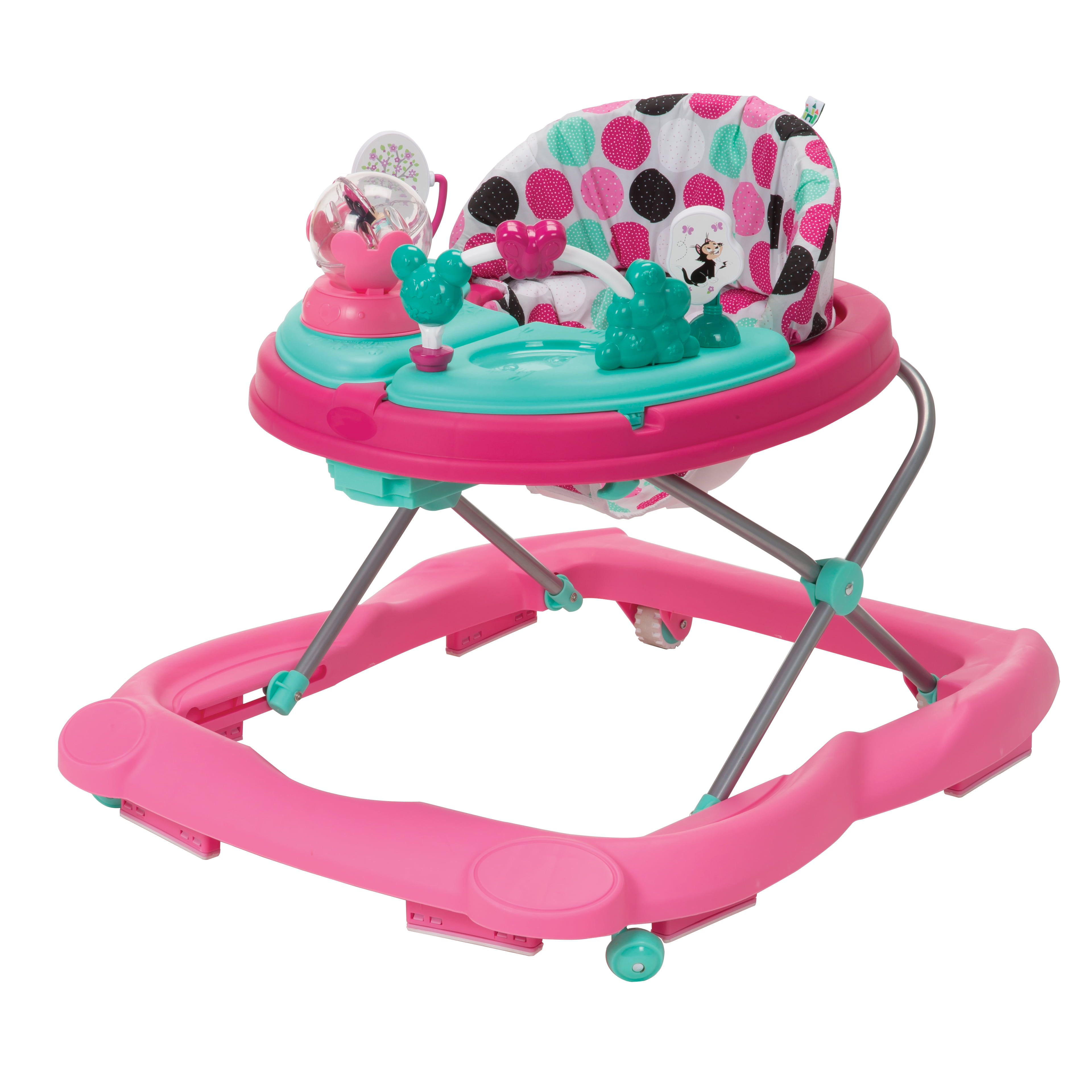 baby walkers disney ready set music and lights walker minnie mouse dottie