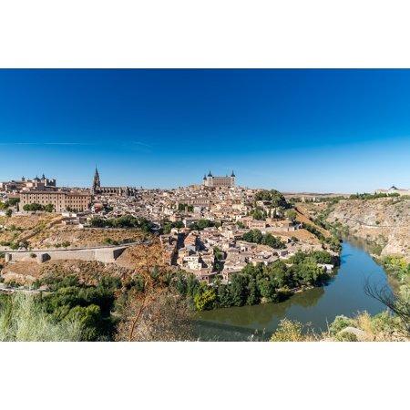 Canvas Print Europe Toledo Historic Spanish Travel City Spain Stretched Canvas 10 x 14 - Party City Toledo