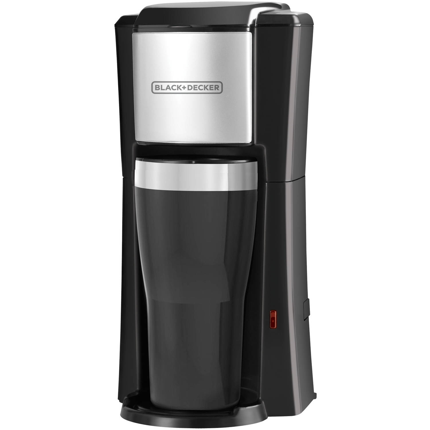 Black And Decker Gt300 Coffee Maker : Black & Decker 8-Cup Thermal Programmable Coffee Maker, Stainless Steel and Black - Walmart.com