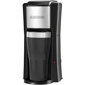 BLACK+DECKER Single Serve Drip Coffee Maker, 16OZ, CM618