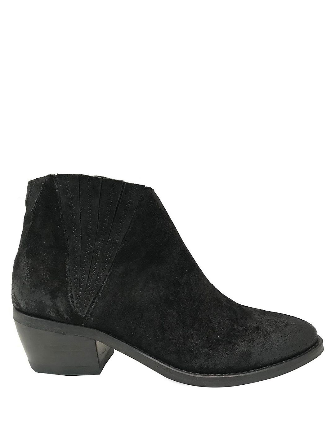 Cupid Suede Booties
