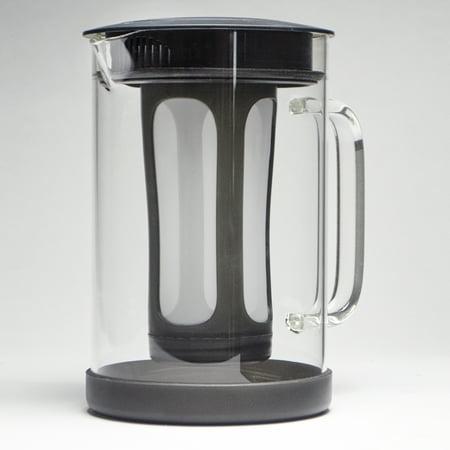 Pace 1 6 Qt Temperature Safe Borosilicate Gl Cold Brew Coffee Maker With Filter