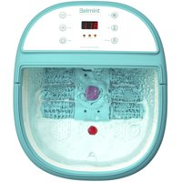 Belmint Foot Spa Bath Massager with Heat, Foot Soaking Tub Features, Bubbles and LCD Screen