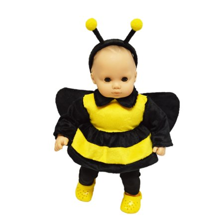 Bumble Bee Outfit For American Girl Dolls Bitty Baby](Bumble Bee Outfit Toddler)