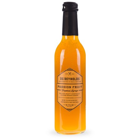 BG Reynolds Passion Fruit Craft Cocktail Tropical Syrup - 375ml