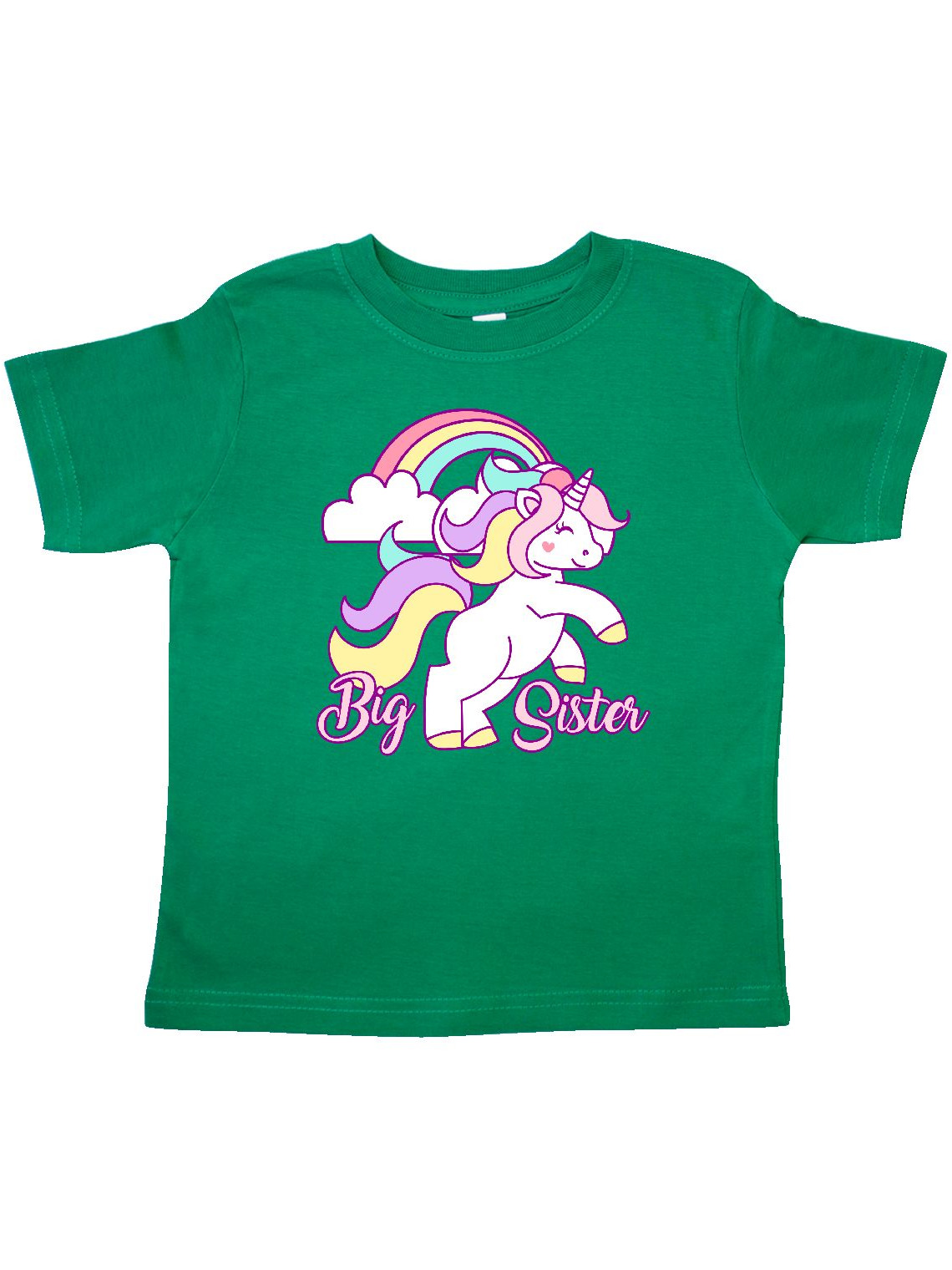 Big Sister Unicorn Toddler T-Shirt