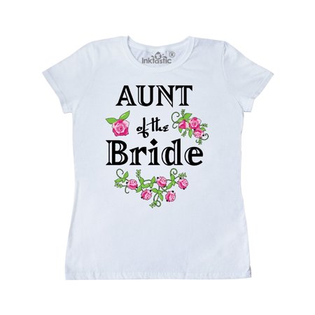 Aunt of the Bride with Roses Women's T-Shirt](Aunt Viv Halloween)