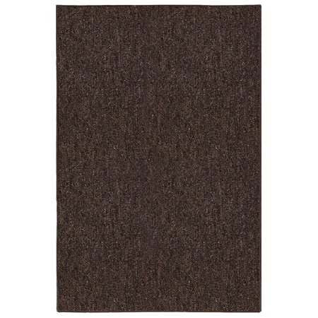 Indoor Outdoor Area Rugs, Chocolate - 4'x6' (Outdoor Indoor Rug)