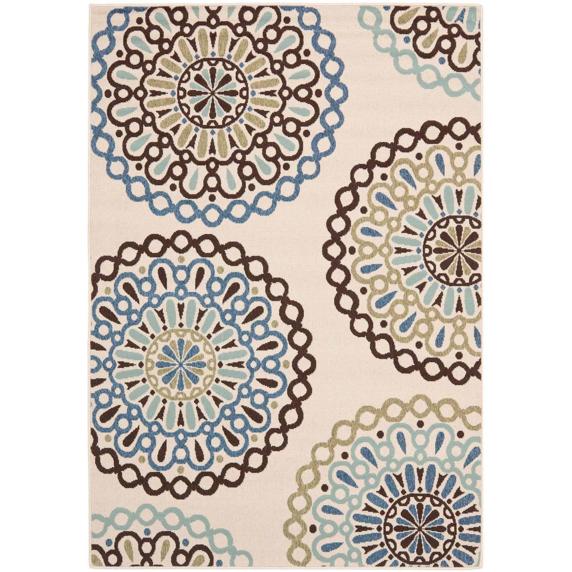 Safavieh Veranda Axum Geometric Indoor/Outdoor Area Rug or Runner ...