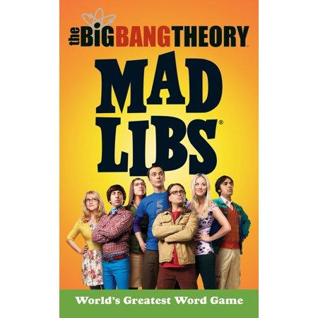 The Big Bang Theory Mad Libs](Big Bang Theory Amy Farrah Fowler)