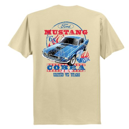 Ford Mustang T-shirt Cobra Jet '68 United We 'Stang ()