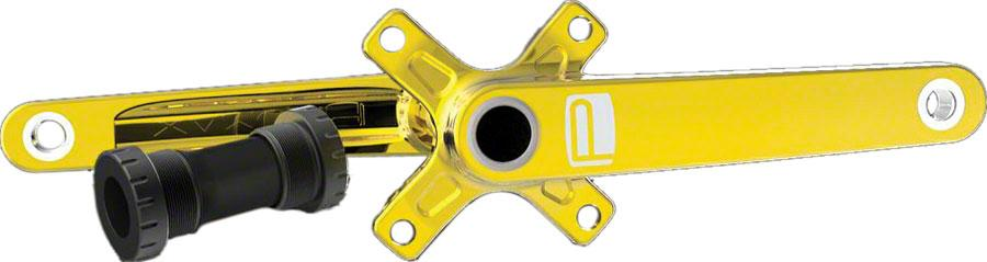 Promax CF-2 Cold Forged 2 Piece Crank 24 x 170mm Gold with BB