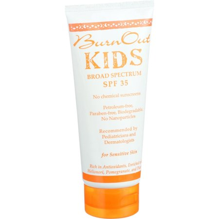 Burn Out Physical Sunscreen   Kids   Spf 35   3 4 Oz    Pack Of 2