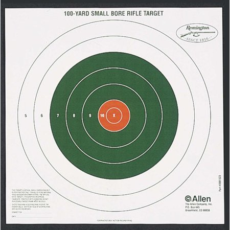 Remington Bullseye 100 Yard Sight-In Target by Allen Company ()