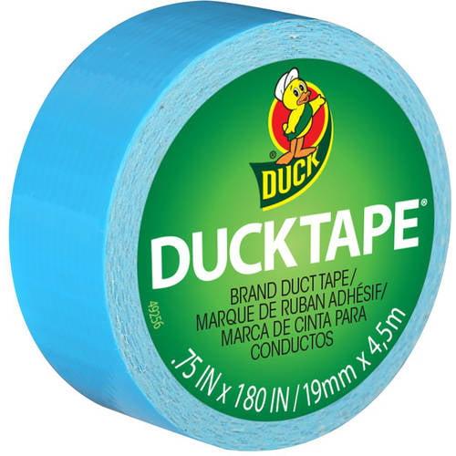 Duck Brand Electric Blue Color Duck Tape Mini