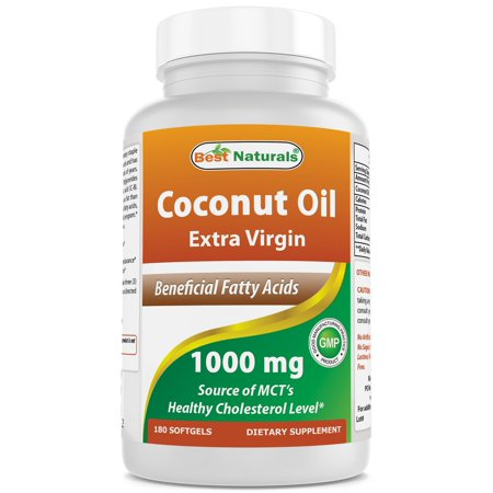 BEST NATURALS Coconut Oil 1000 mg 180 SFG