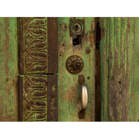 Laminated Poster Entry Door Lock Wooden Door Poster Print 24 X 36