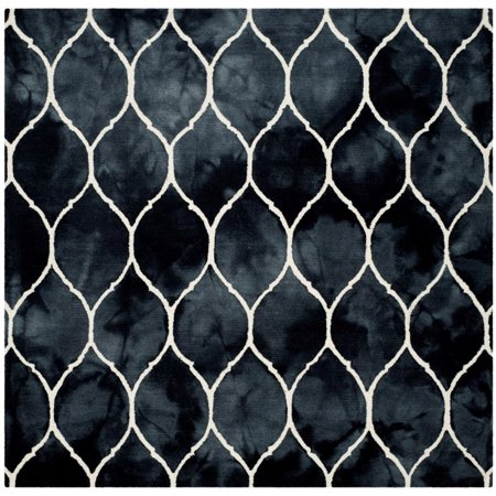 Safavieh Dip Dye 3' X 5' Hand Tufted Rug in Graphite and Ivory - image 1 de 10