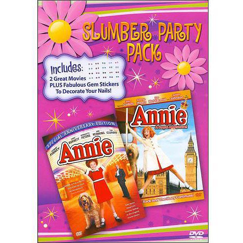 SLUMBER PARTY PACK: ANNIE/ANNIE: A ROYAL ADVENTURE