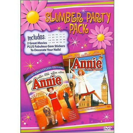 SLUMBER PARTY PACK: ANNIE/ANNIE: A ROYAL ADVENTURE](Slumber Party Ideas)