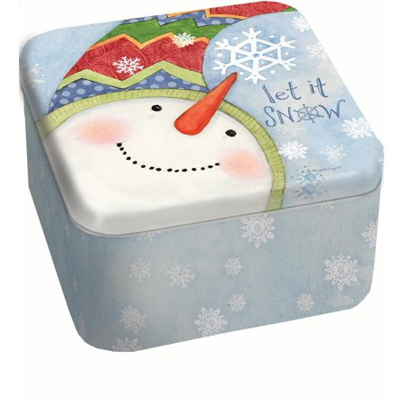 LANG SNOWFLAKES 13.5 OZ TIN CANDLE - Snowflake Candles