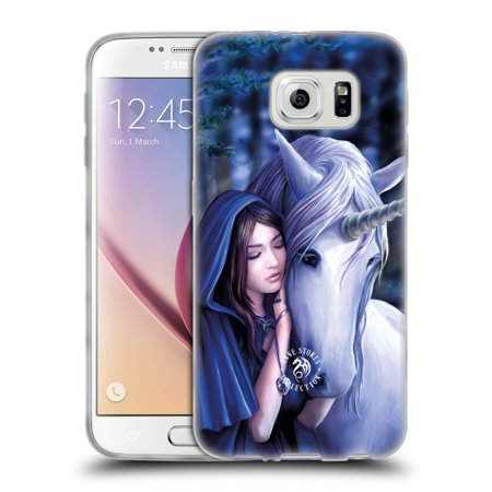 OFFICIAL ANNE STOKES UNICORNS 2 SOFT GEL CASE FOR SAMSUNG PHONES 1