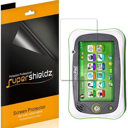 [3-pack] Supershieldz LeapFrog LeapPad Ultimate Screen Protector Anti-Bubble High Definition (HD) Clear Shield (Leappad Screen Replacement)