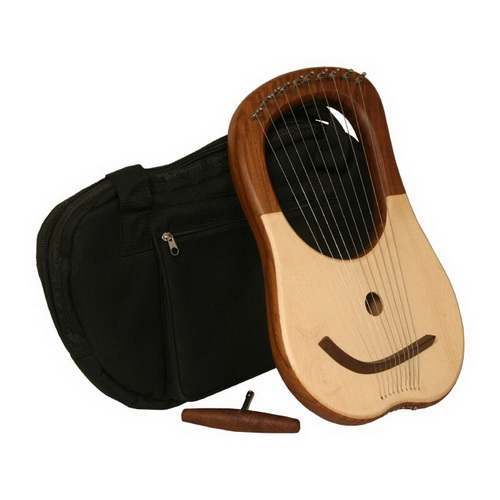 Mid-East Lyre Harp, 10 String