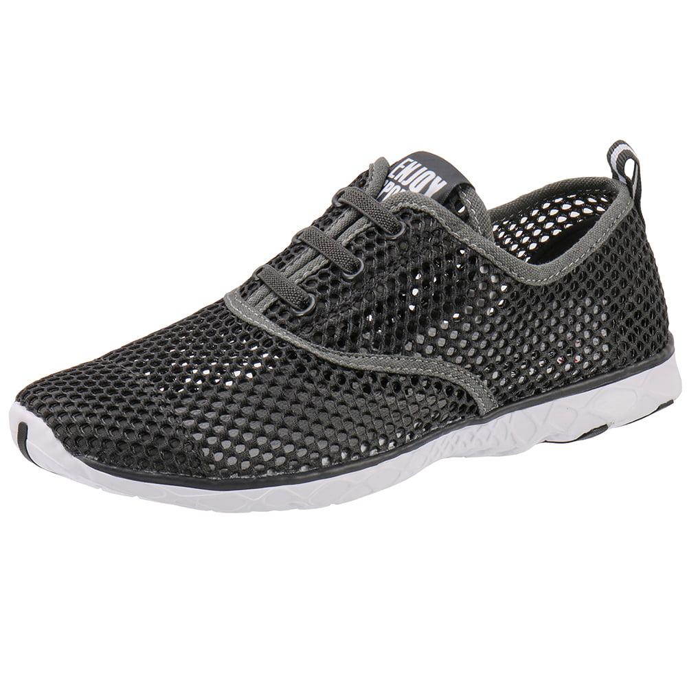 ALEADER Mens Quick Drying Aqua Water Shoes